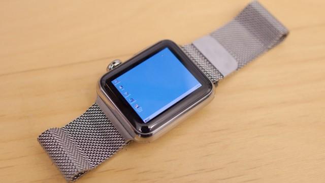Nick Lee har klart det igjen, denne gang er det Windows 95 som kjører på Apple Watch.