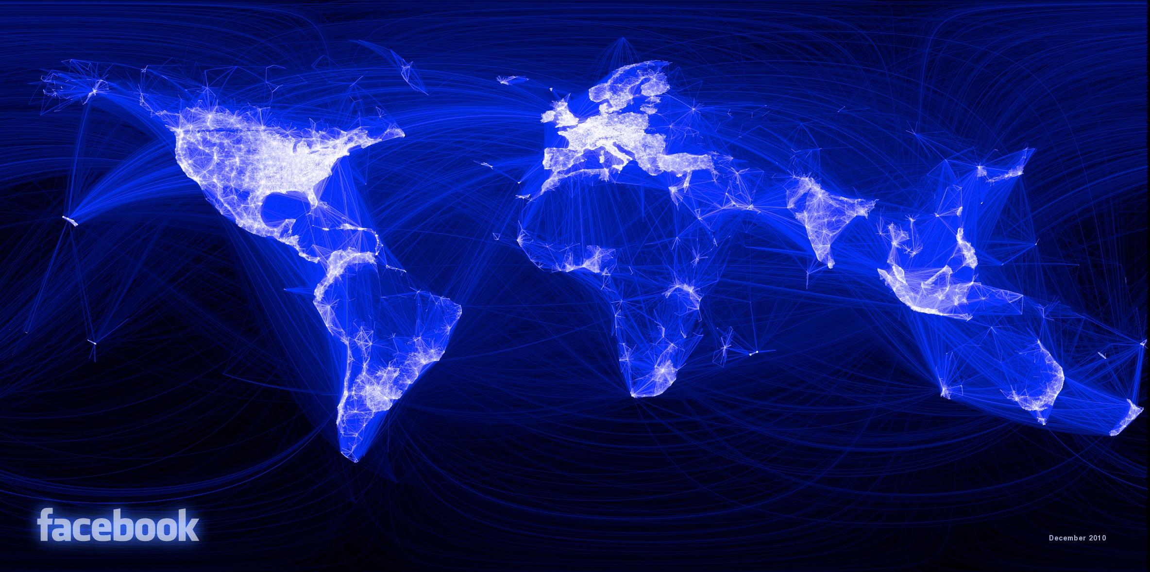 Ved å bruke programmeringsspråket R så har en facebook ansatt laget dette fascinerende kartet.