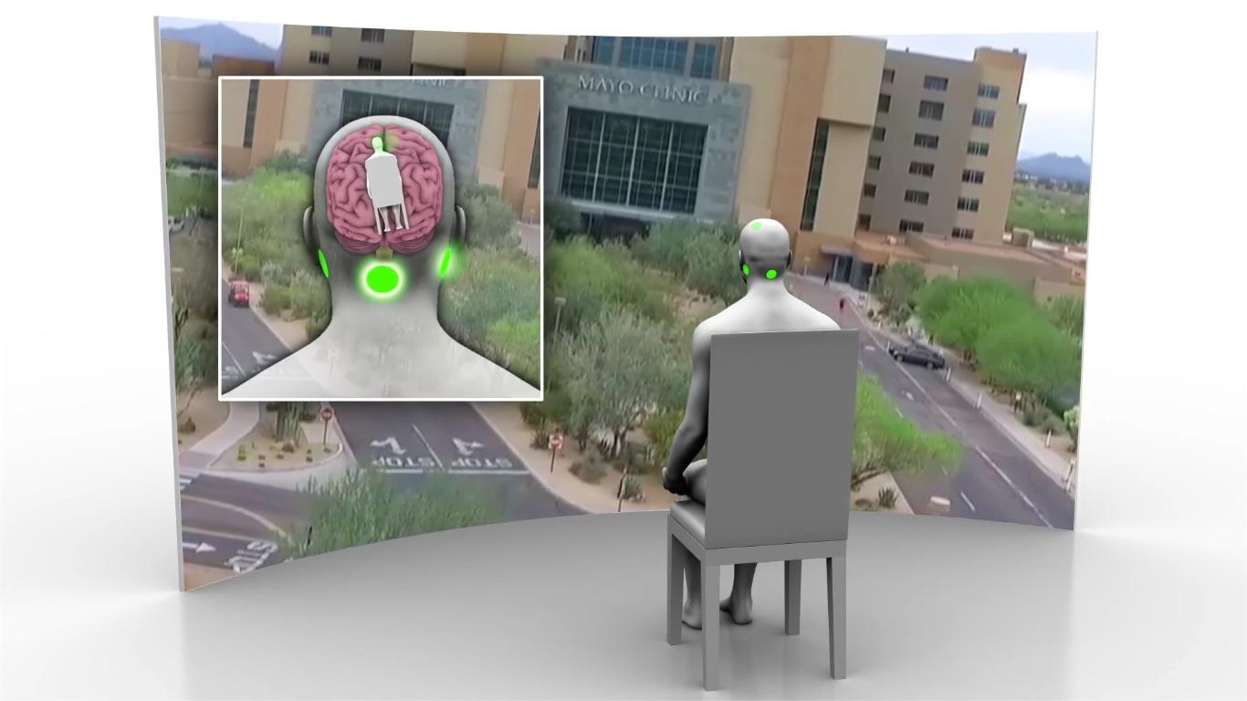 Animasjonen nederst i denne saken viser deg hvordan «galvanic vestibular stimulation (GVS)» fungerer i praksis.