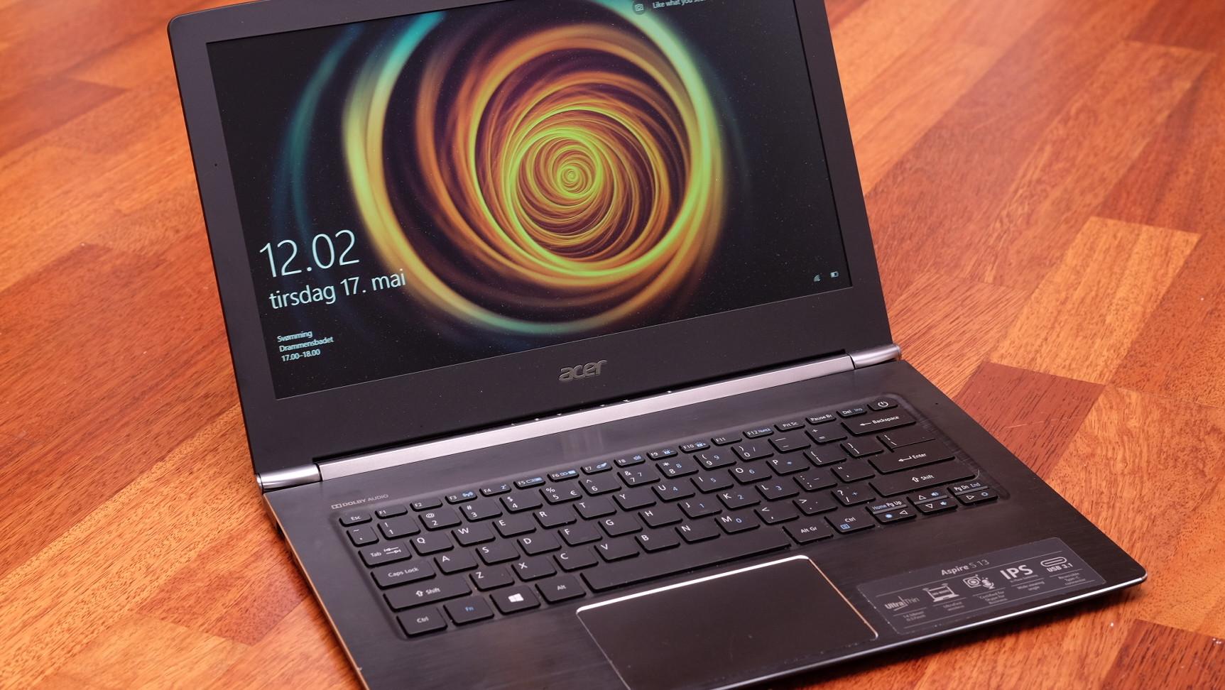 Du får mye for pengene med en Acer S13.