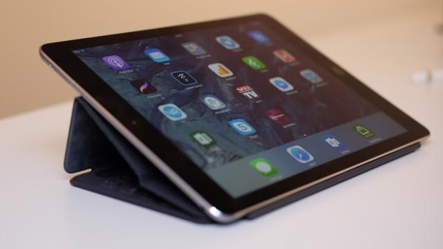 Smart Keyboard gir to forskjellige vinkler til iPad Pro.
