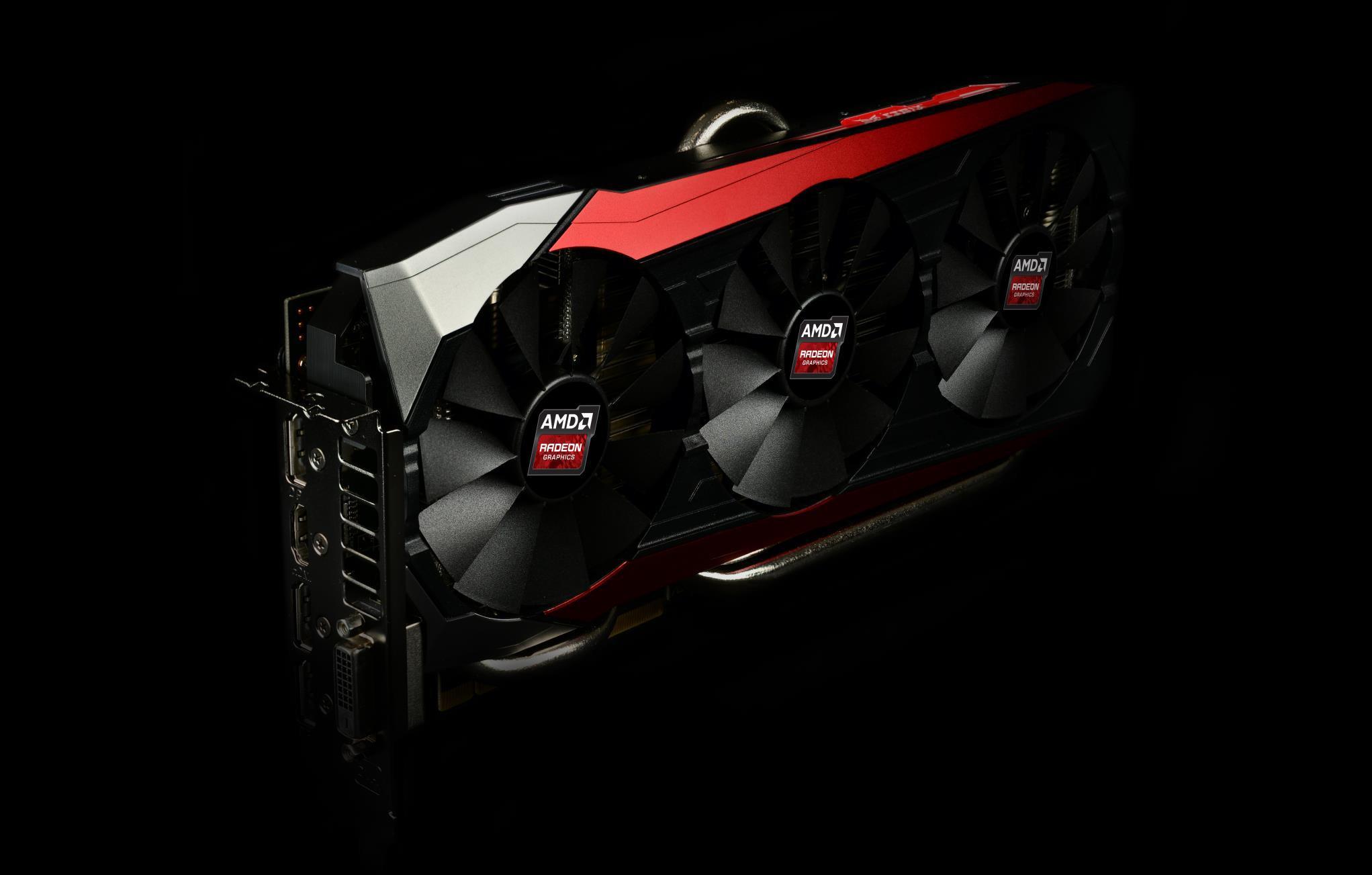 Asus sitt STRIX Radeon R9 Fury-skjermkort med dyrt HBM-minne.