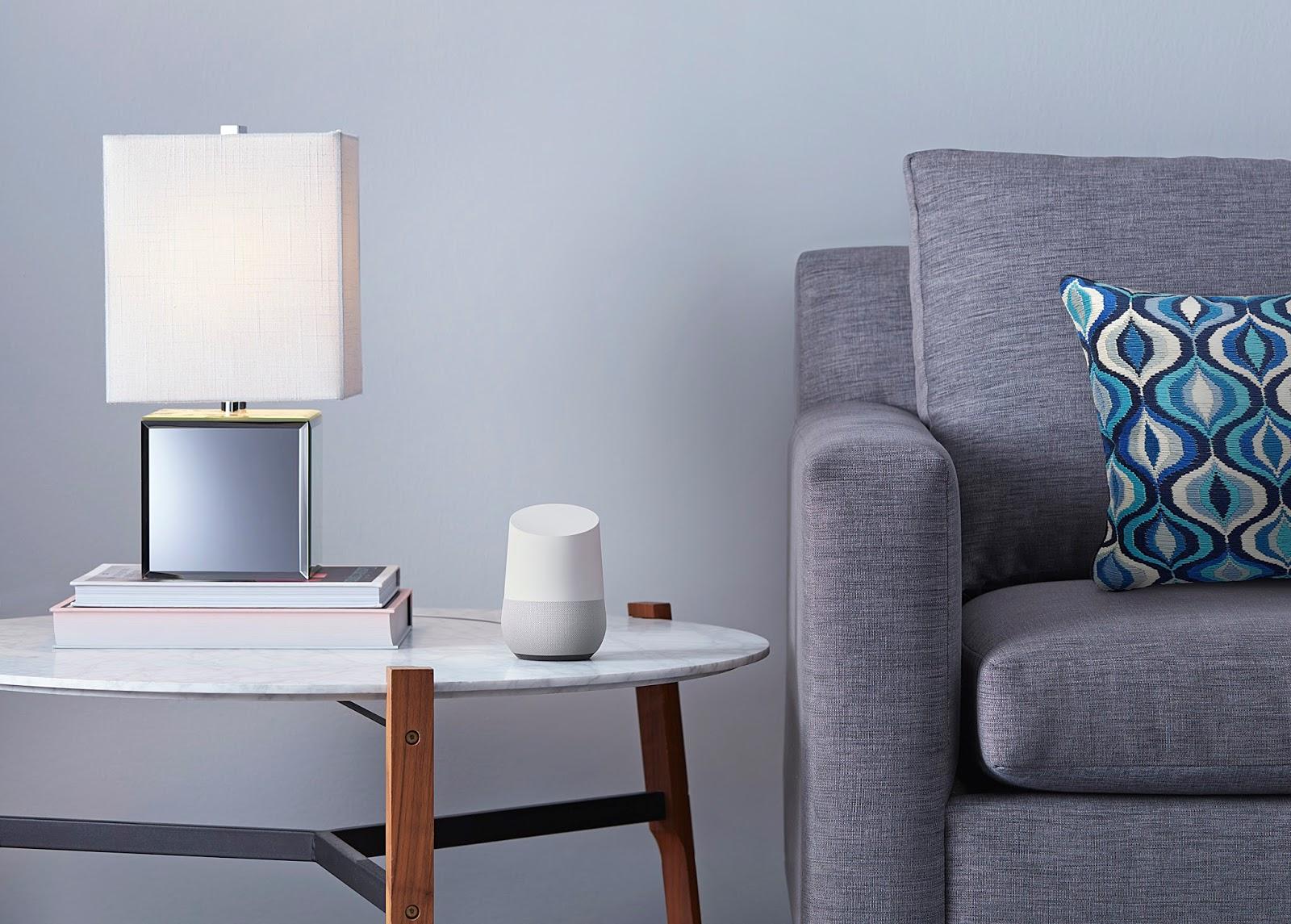Google Home blir en direkte konkurrent til Amazon Echo.