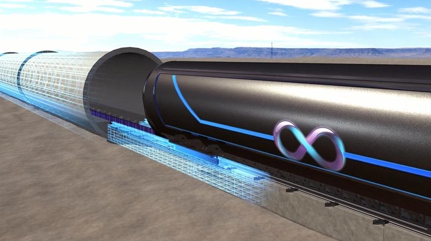 Slik blir testen av Hyperloop.