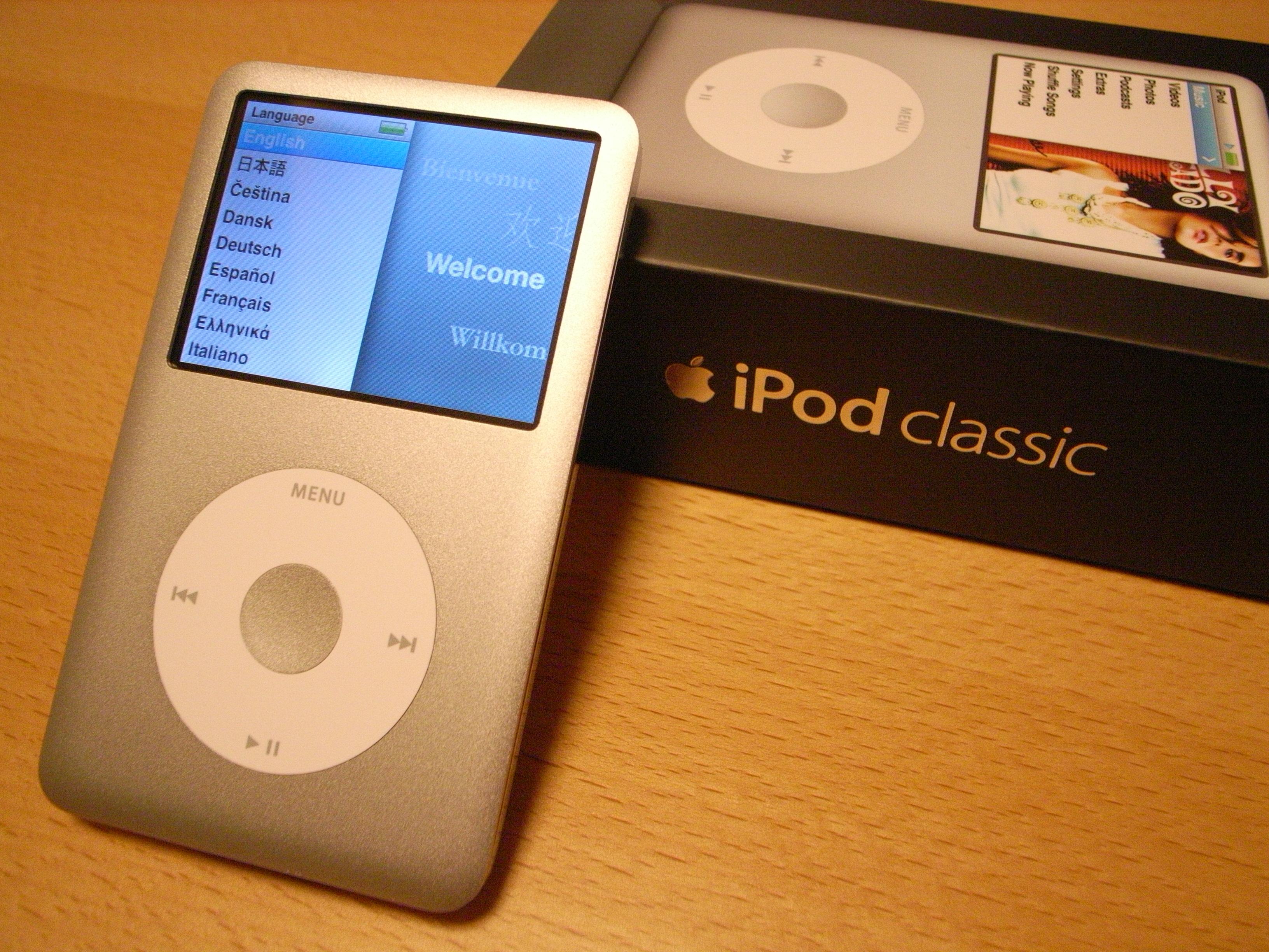 Klassiske iPods er gull verdt i følge ebay.