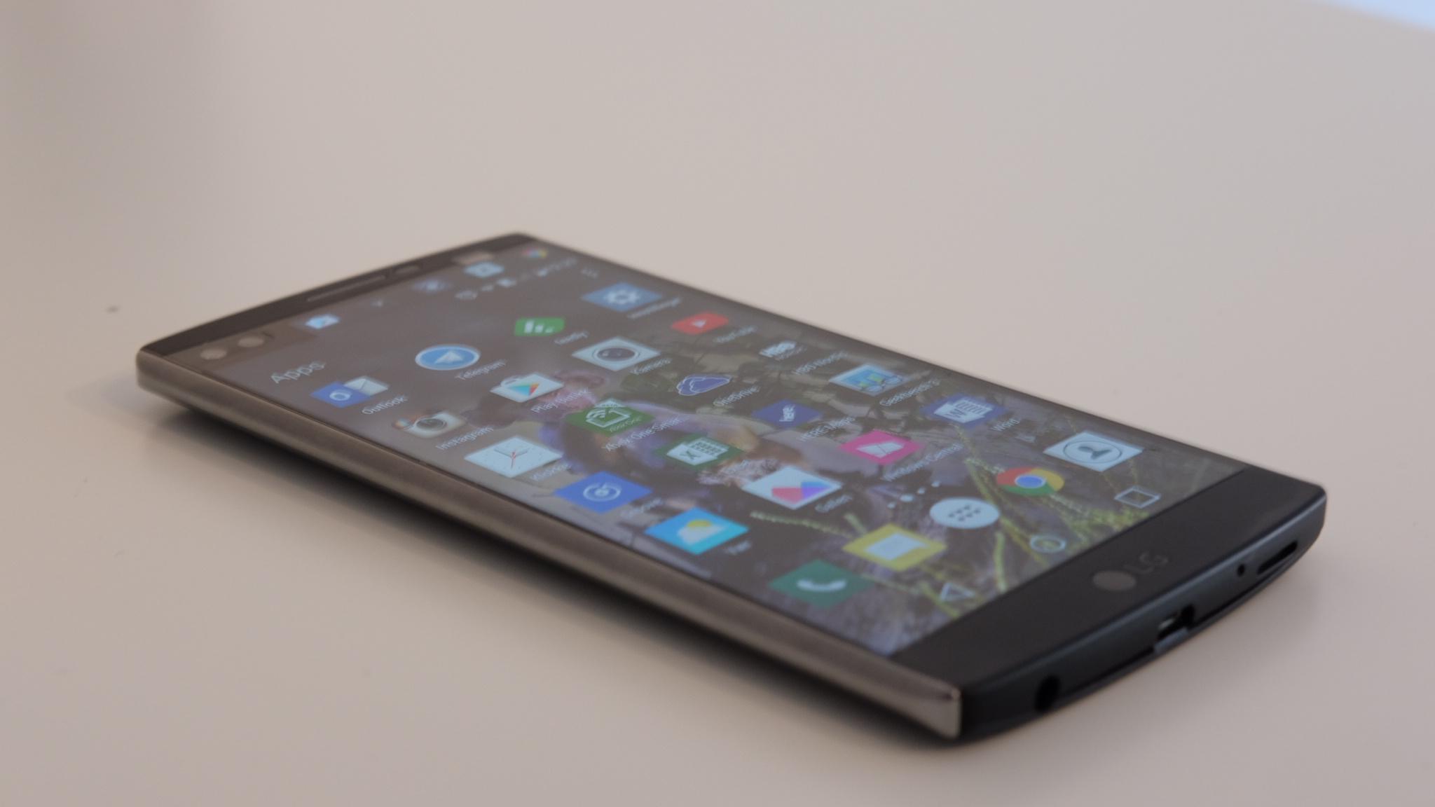 LG V10 ble nylig oppdatert til Android 6.