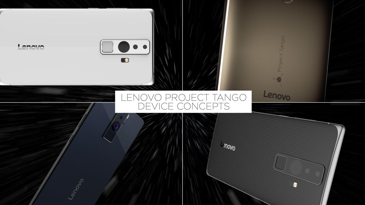 Lenovo viste frem Project Tango tidligere i år.