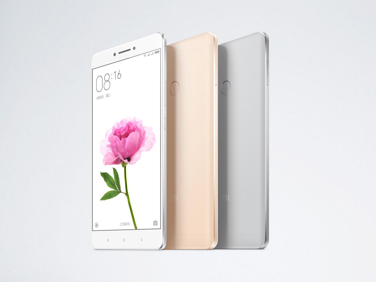 Xiaomi Mi Max er selskapet største noensinne.