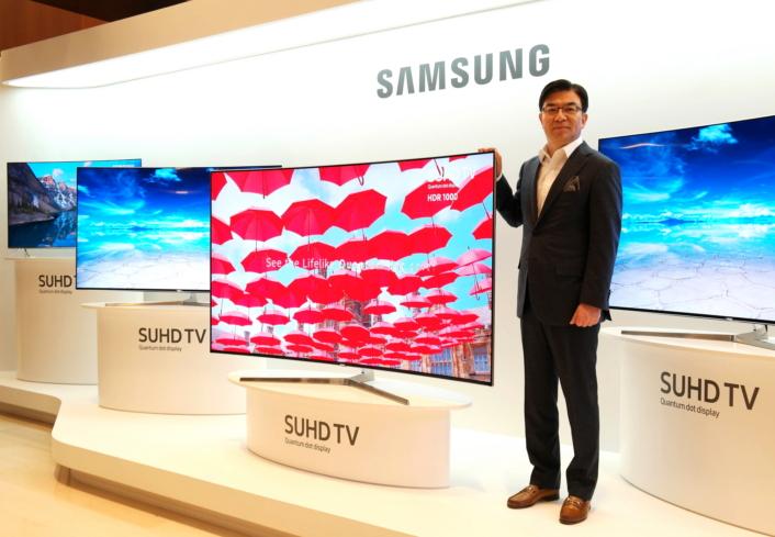 Samsungs TV-er skal vise annonser på menylinjen.