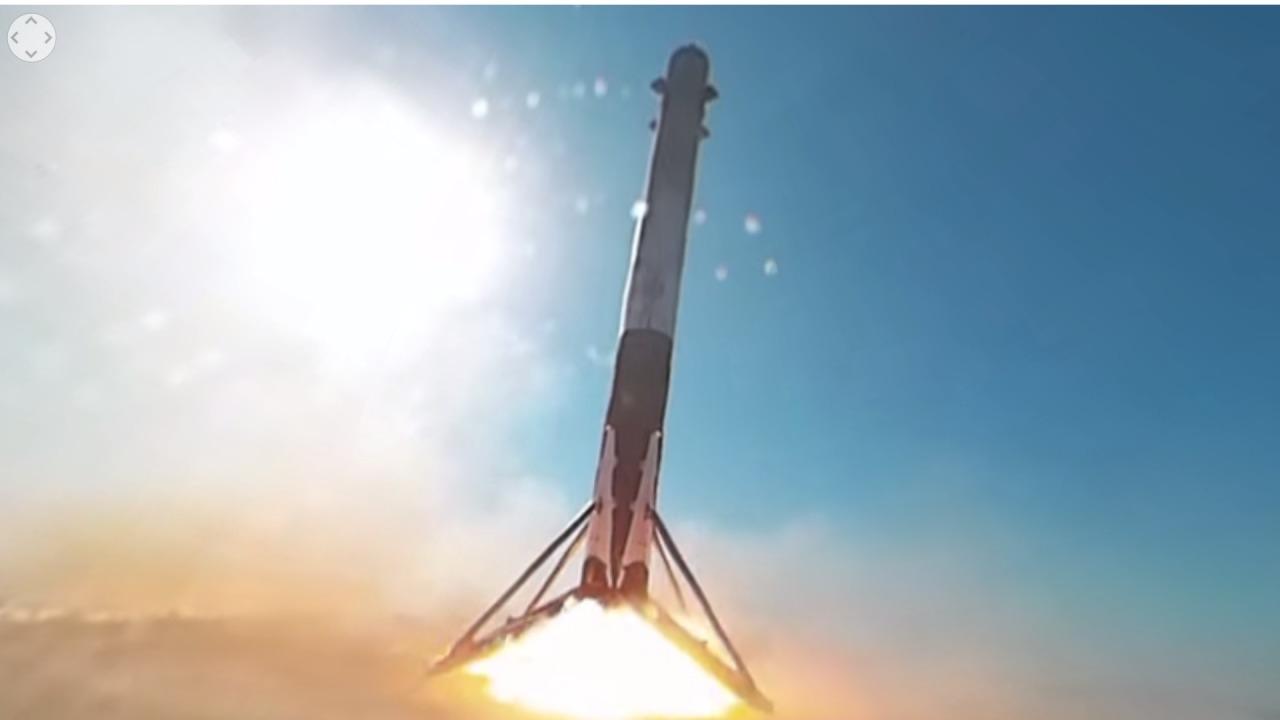 Elon Musk og SpaceX har lykkes nok en gang. Bildet er hentet fra oppskytingen i april.