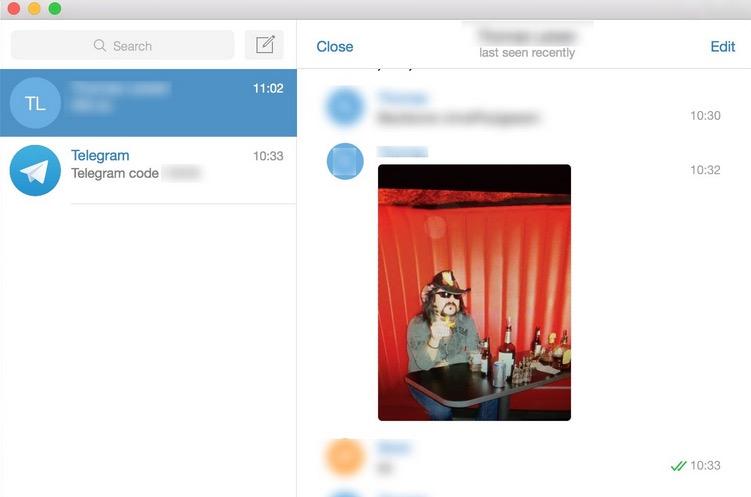 Telegram oppdateres med nye funksjoner.