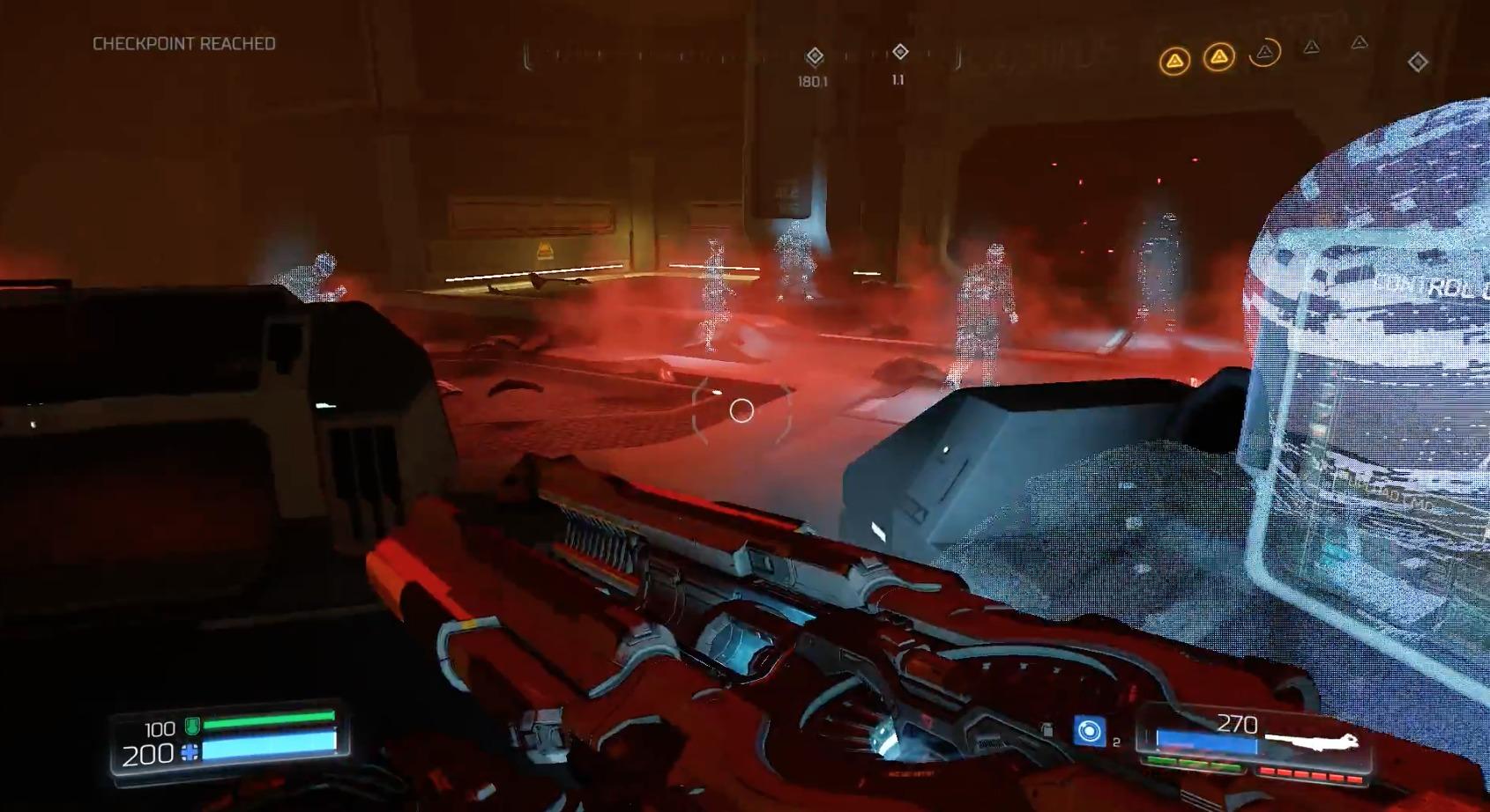 Ultra Nightmare-modus er ingen hindring for denne Doom-spilleren.