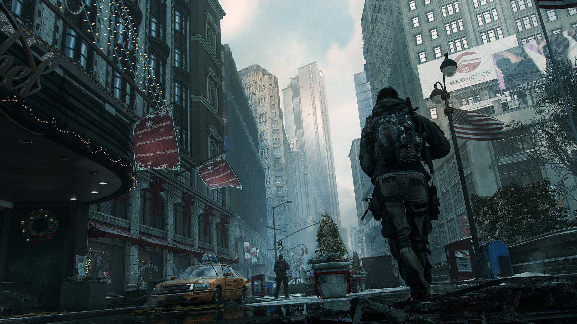 Vi møter et dunkelt Manhattan i The Division.
