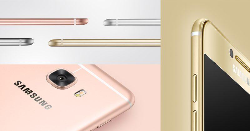 Samsung C5 og C7 ser like ut, men har forskjellige spesifikasjoner. Mange vil nok se at spesielt baksiden minner mye om iPhone 6 og 6s.