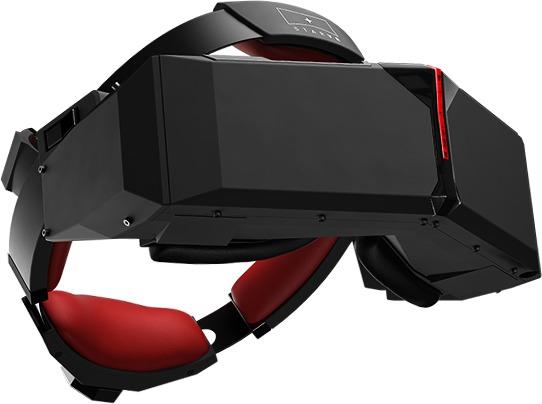 StarVRs røde detaljer viser at de har hentet litt fra Acers Predator-serie.