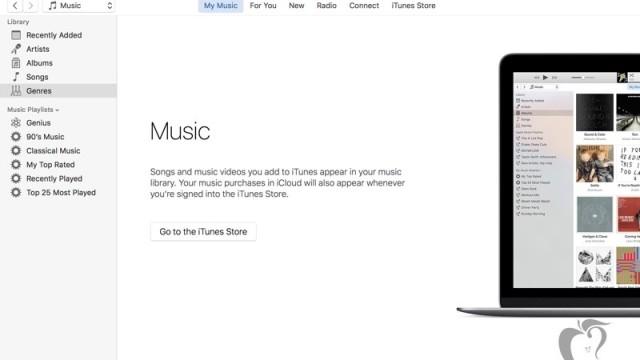 Endringer i iTunes 12.4.