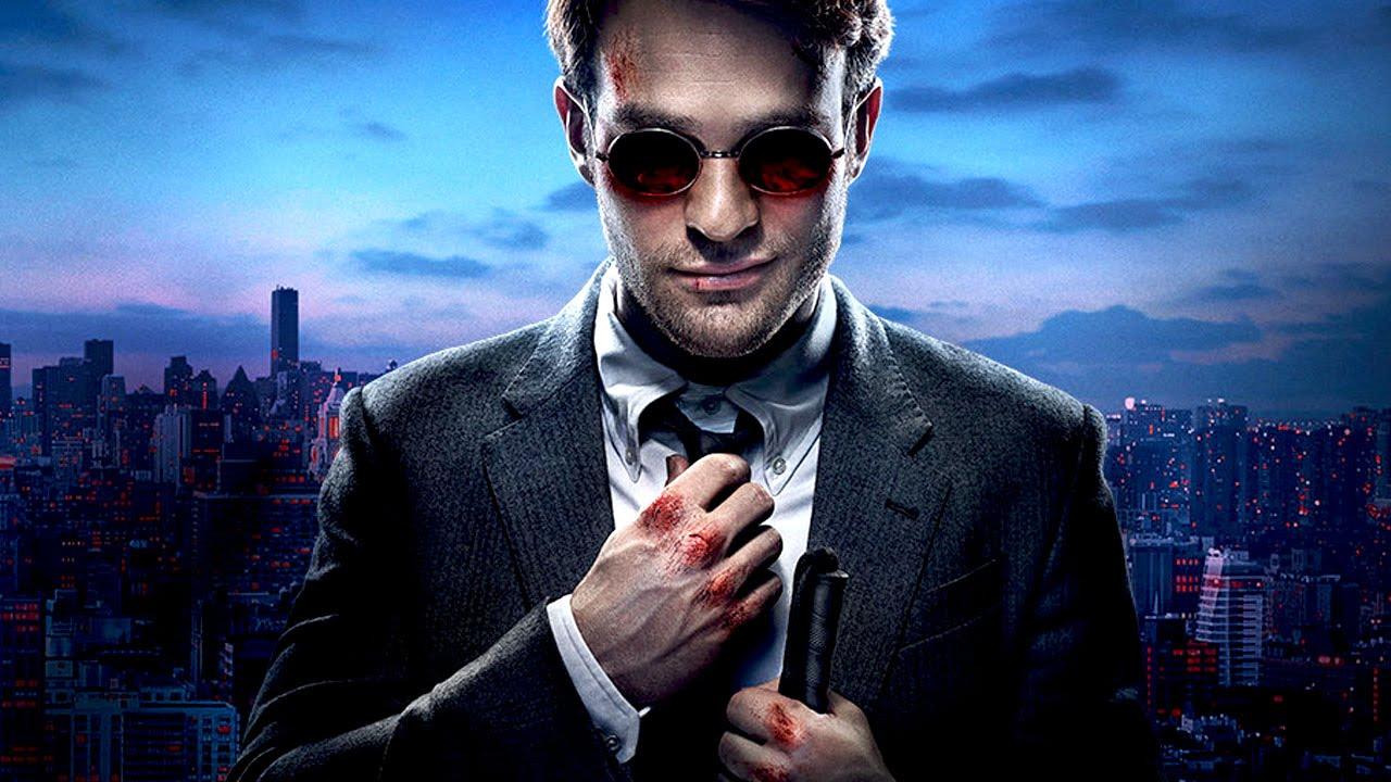 Charlie Cox som Daredevil.