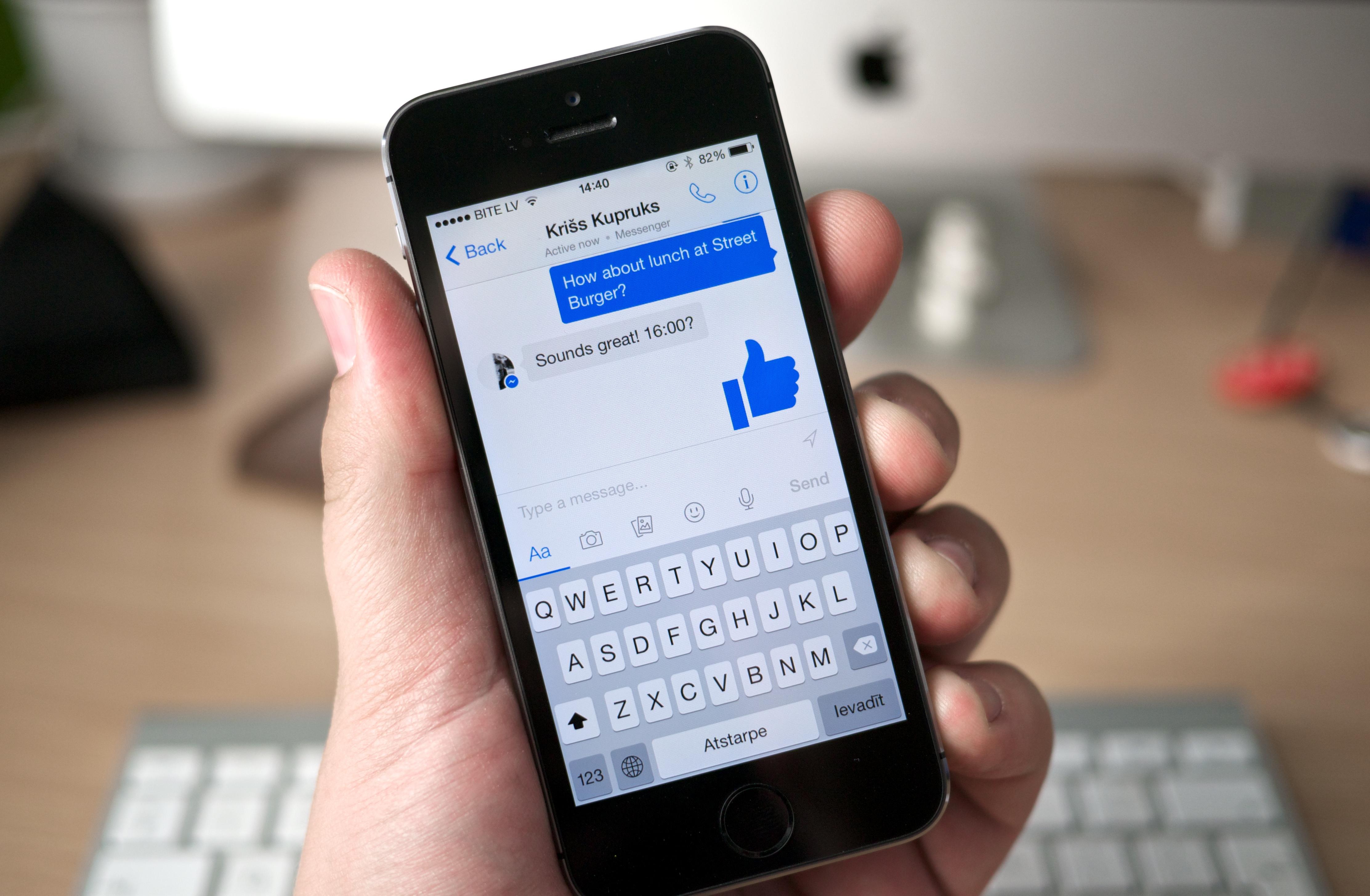 Facebook ønsker å flytte flere brukere inn på Messenger, nå deaktiverer de lynmeldinger fra mobilversjonen av nettsidene sine.