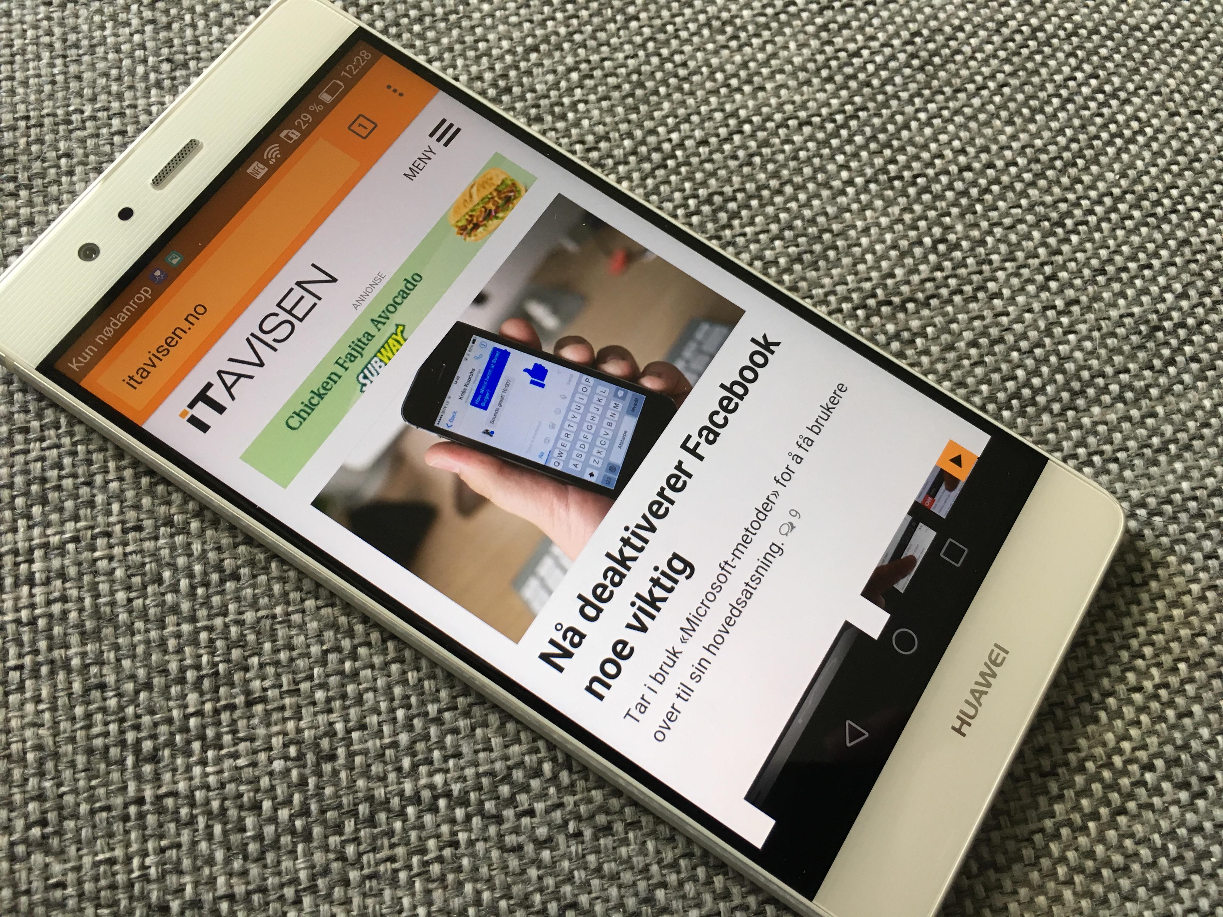 Huawei jobber med et eget operativsystem for mobiltelefoner.