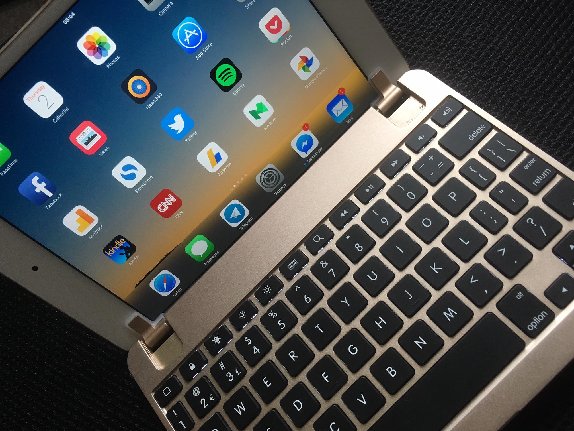 Brydge til iPad mini 4 kunne vært den perfekte notatblokk, men en helt hinsides teit designflause setter en effektiv stopper for den drømmen.