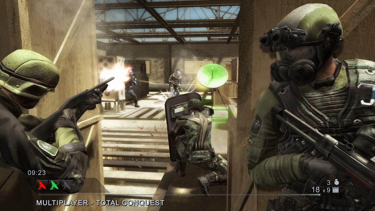 Rainbow Six Vegas 2 er et av fire spill som er gratis på Xbox Live i juli.