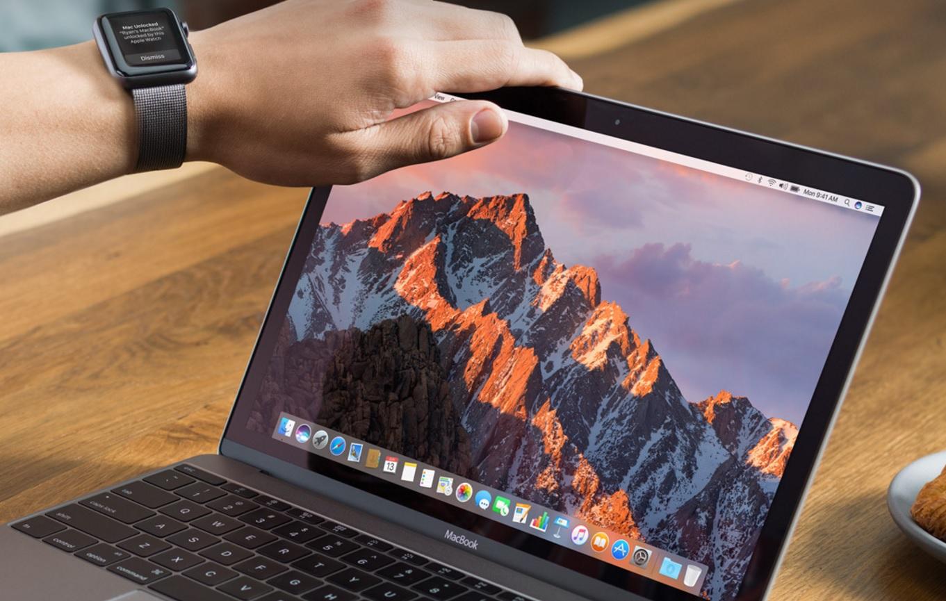 MacOS Sierra har foruten Safari 10 støtte for automatisk pålogging med Apple Watch, ny meldings-app, Siri og Apple Pay.
