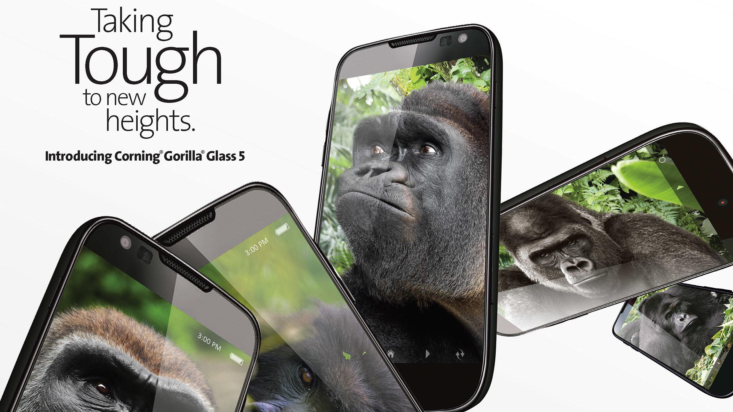 I høst kommer Gorilla Glass 5.