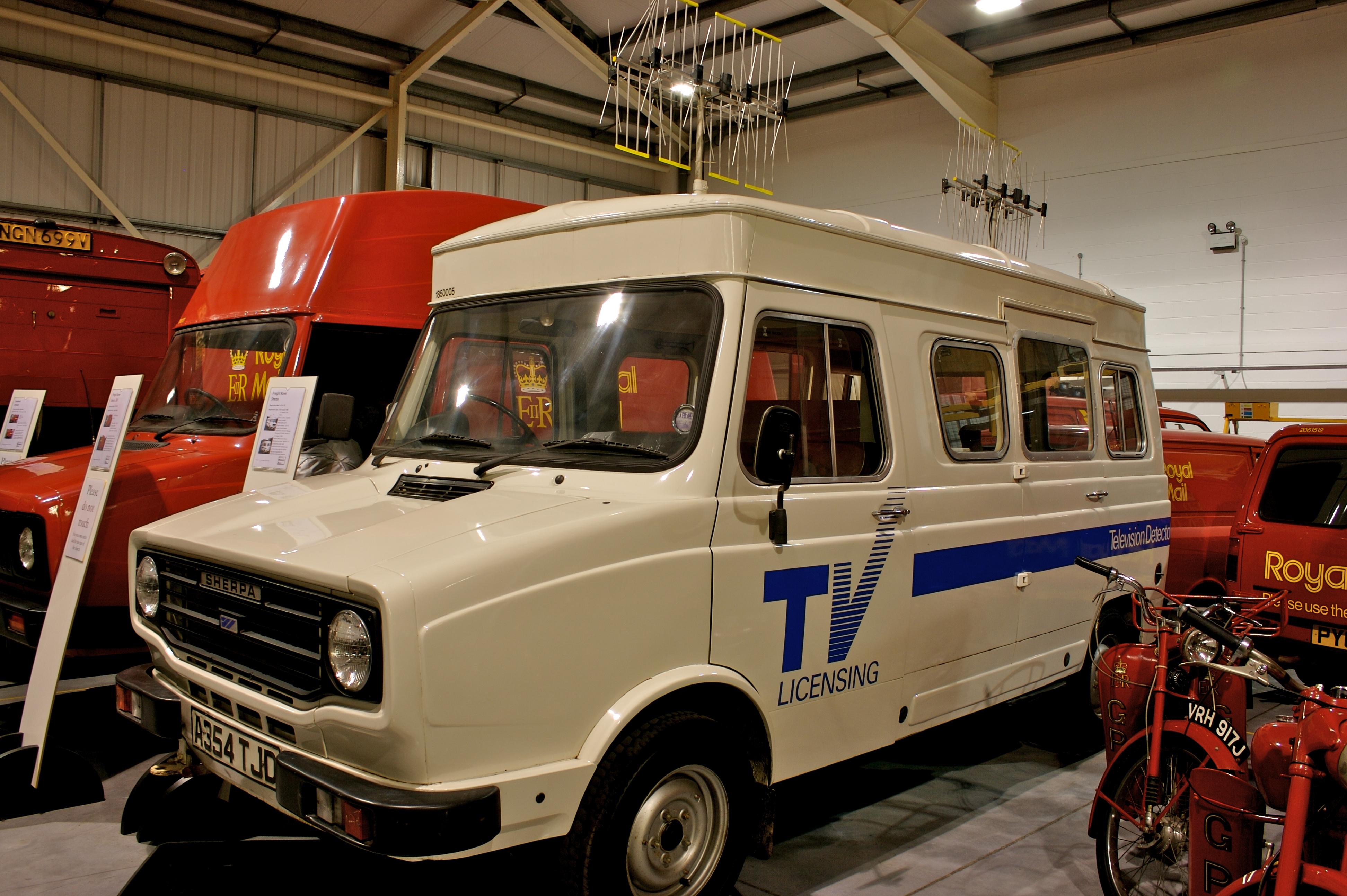 En eldre versjon av bilene som om få måneder sendes ut for å sniffe på folks WiFi trafikk.
