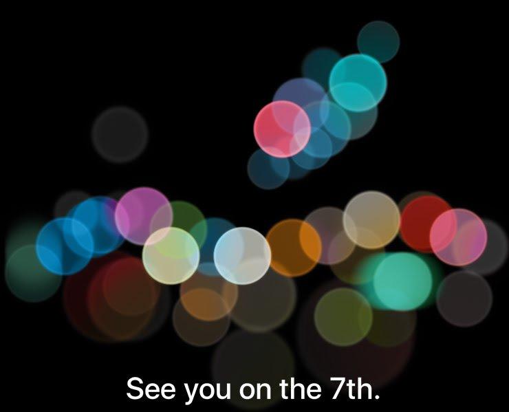 iPhone 7 avsløres 7. september.
