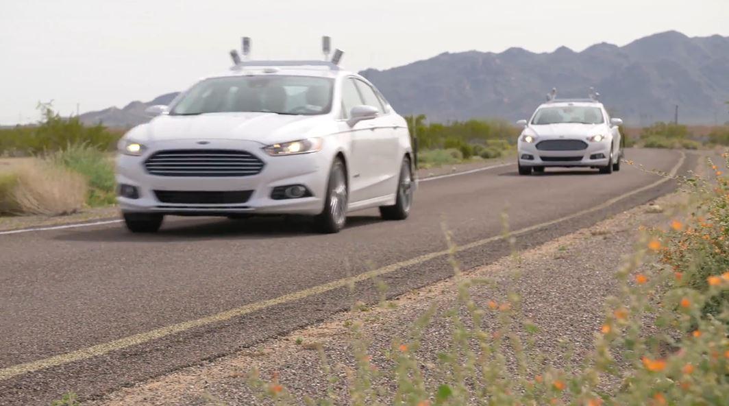 Ford satser tungt på selvkjørende biler.