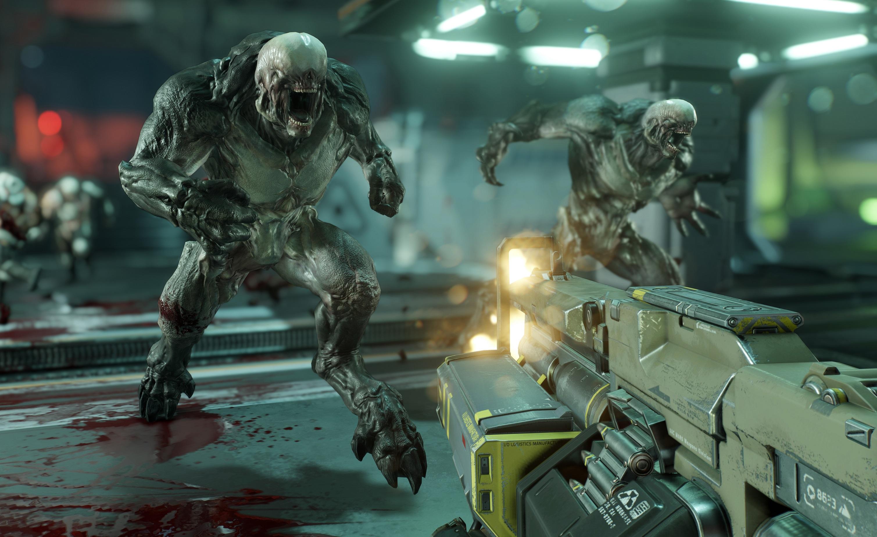 Doom er et av spillene som bruker Denuvo.