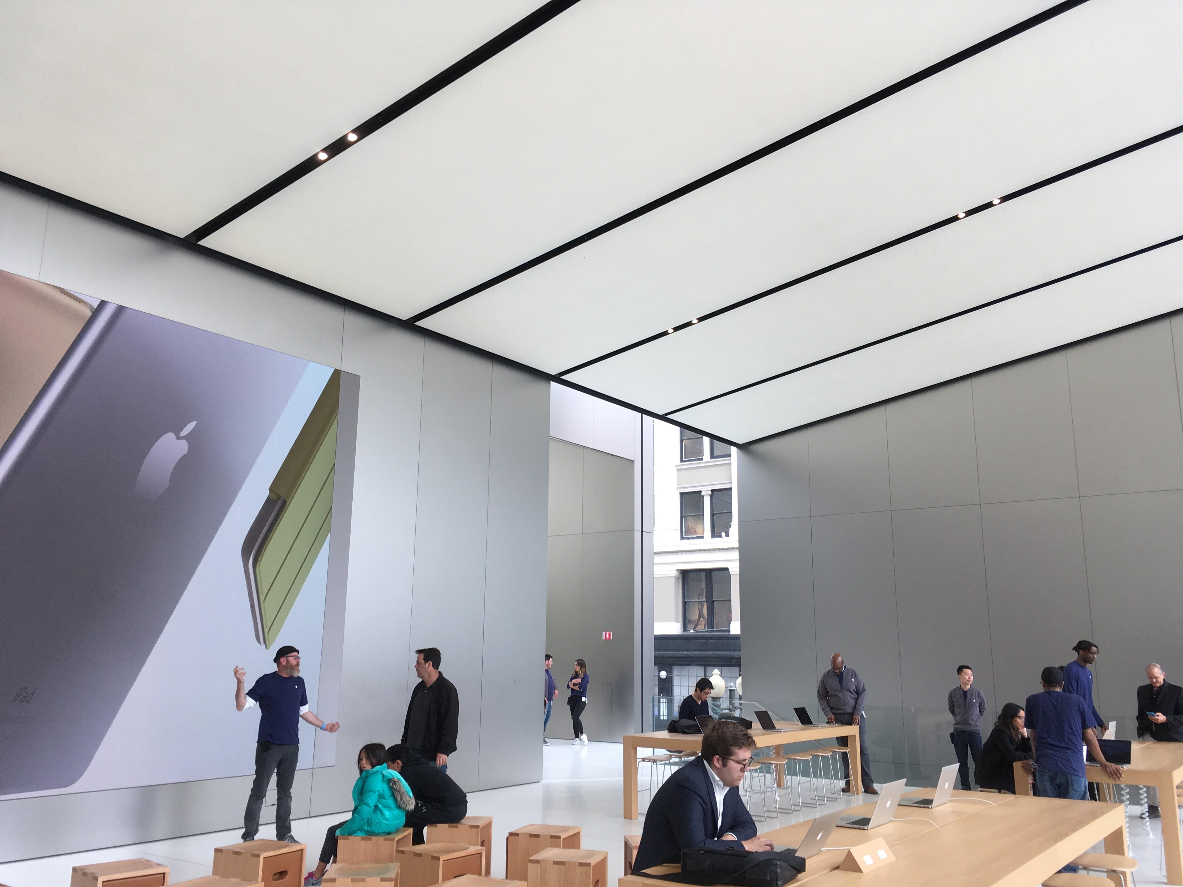 Apples nyeste butikk i San Francisco.