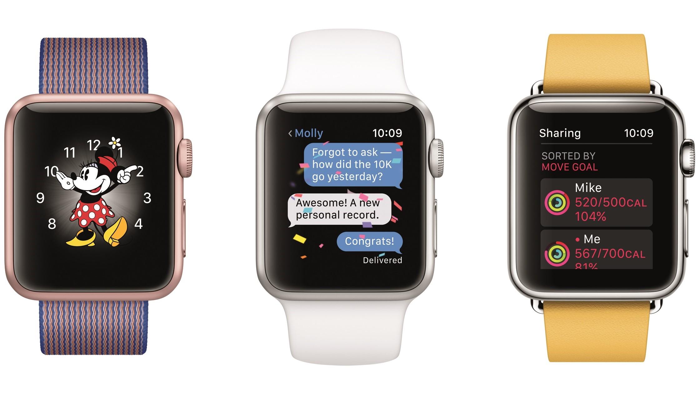 En av Watch-designerne ønsket å ha sensorer i klokkereimen.