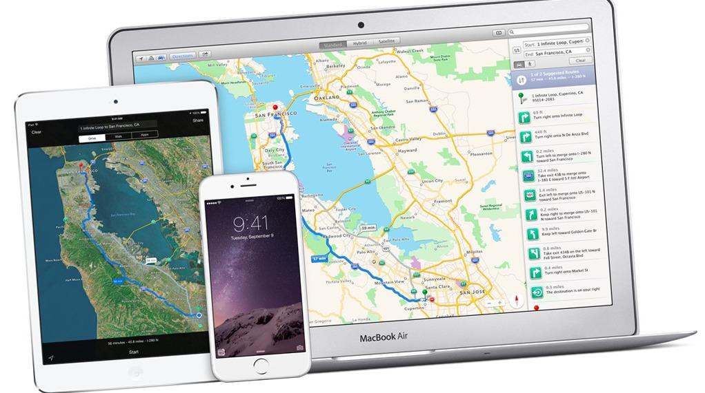 Apple Maps er en av årsakene til at du får teste iOS.