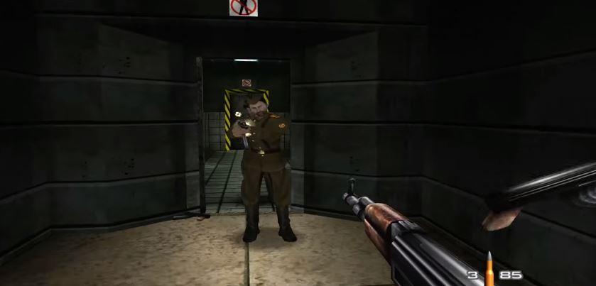 En video fra nyversjonen av GoldenEye 007 til Xbox 360, er publisert på YouTube.