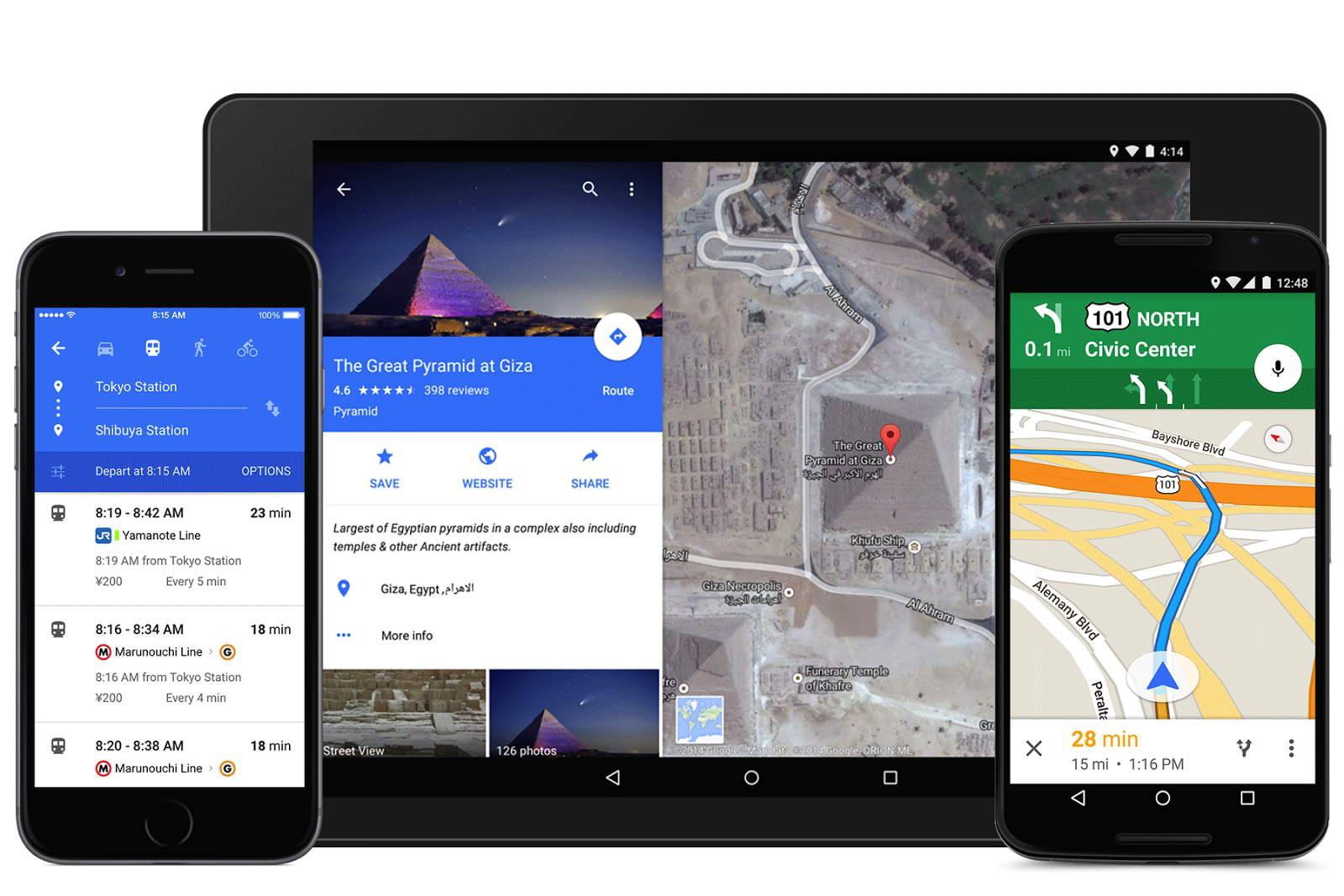 Google Maps oppdateres med to kjekke funksjoner.