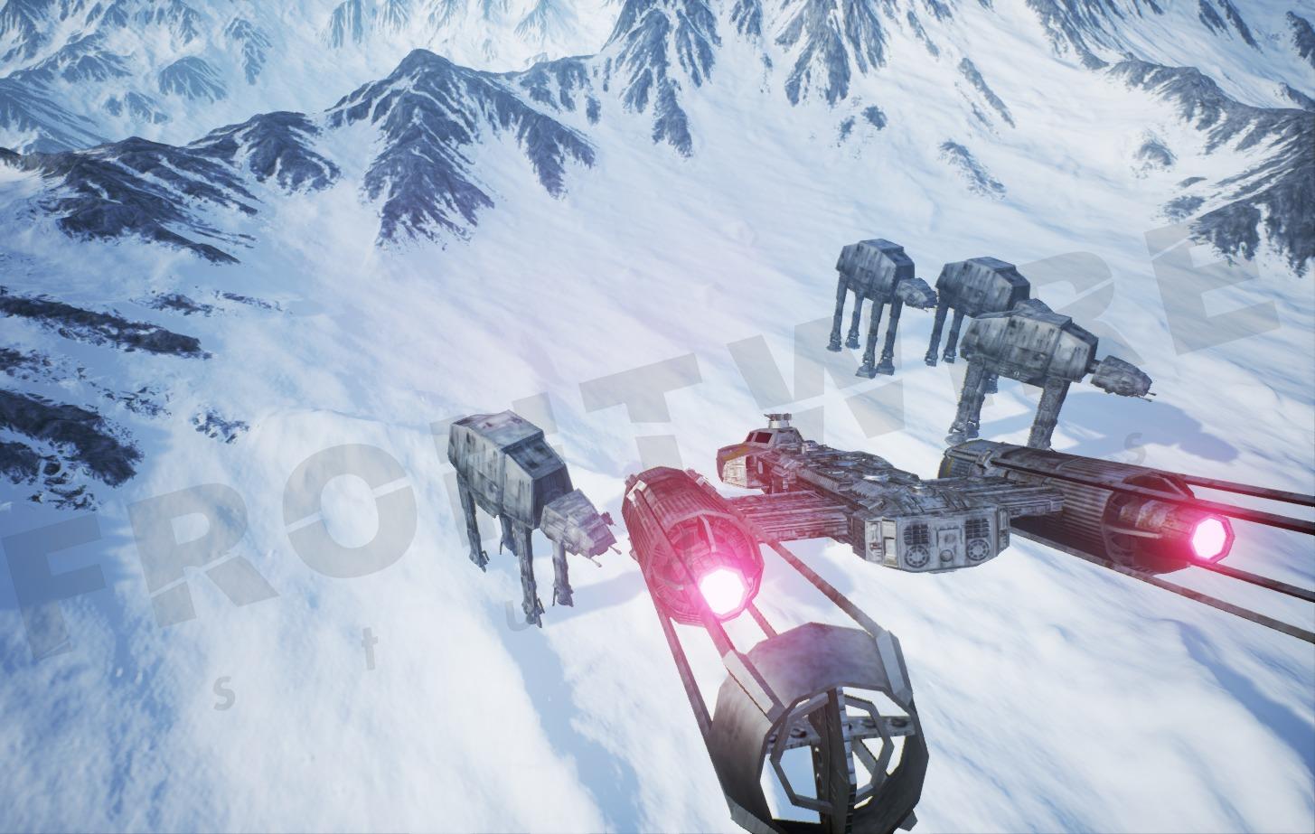 Det blir ingenting av den spirituelle oppfølgeren til det kansellerte Star Wars Battlefront III.