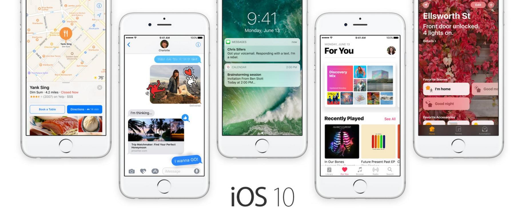 Apple har sluppet betaoppdateringer til både iOS og tvOS.