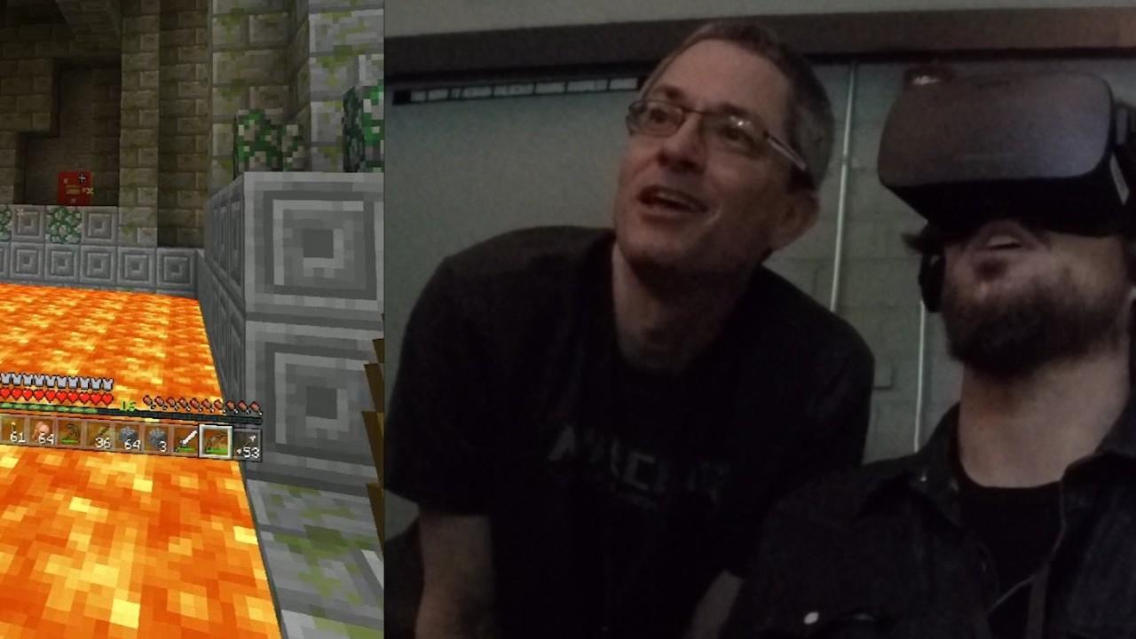 I Mars prøvde ITavisen å spille Minecraft på Rift, nå er støtten snart her.