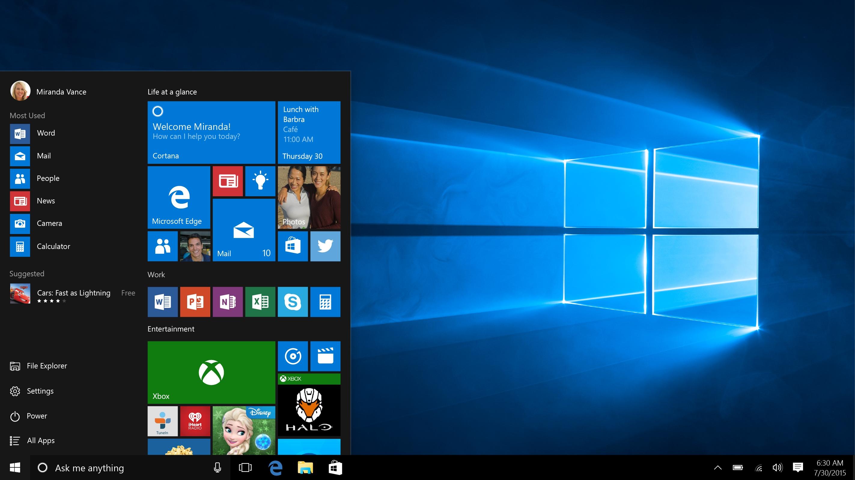 EFF mener Microsoft er uærlige og ufine hva angår installasjon og bruk av Windows 10.