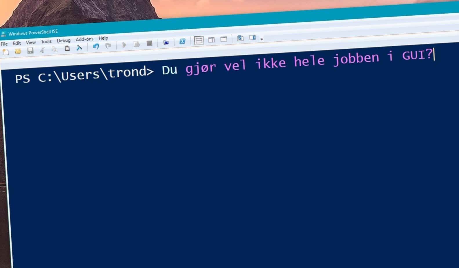 Å lære seg Powershell er veldig viktig som Windows Server-administrator.