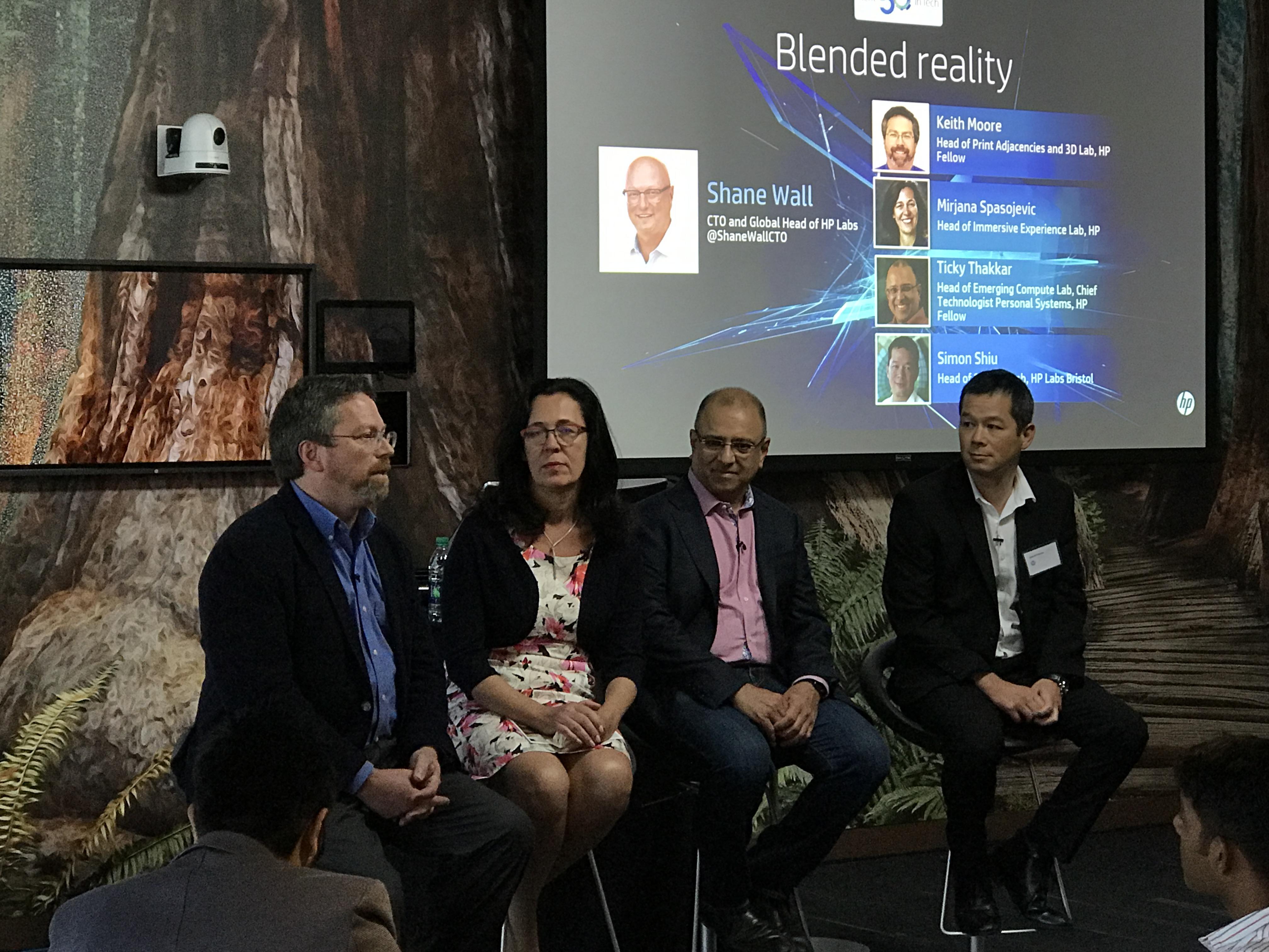 Dette er de fire sjefene for sine respektive avdelinger. Fra venstre: Keith Moore, Mirjana Spasojevic, Ticky Thakkar og Simon Shiu.