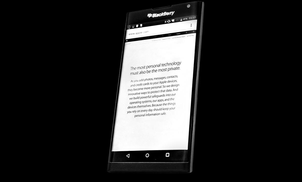 Blackberry er ferdig med å produsere egne smarttelefoner.