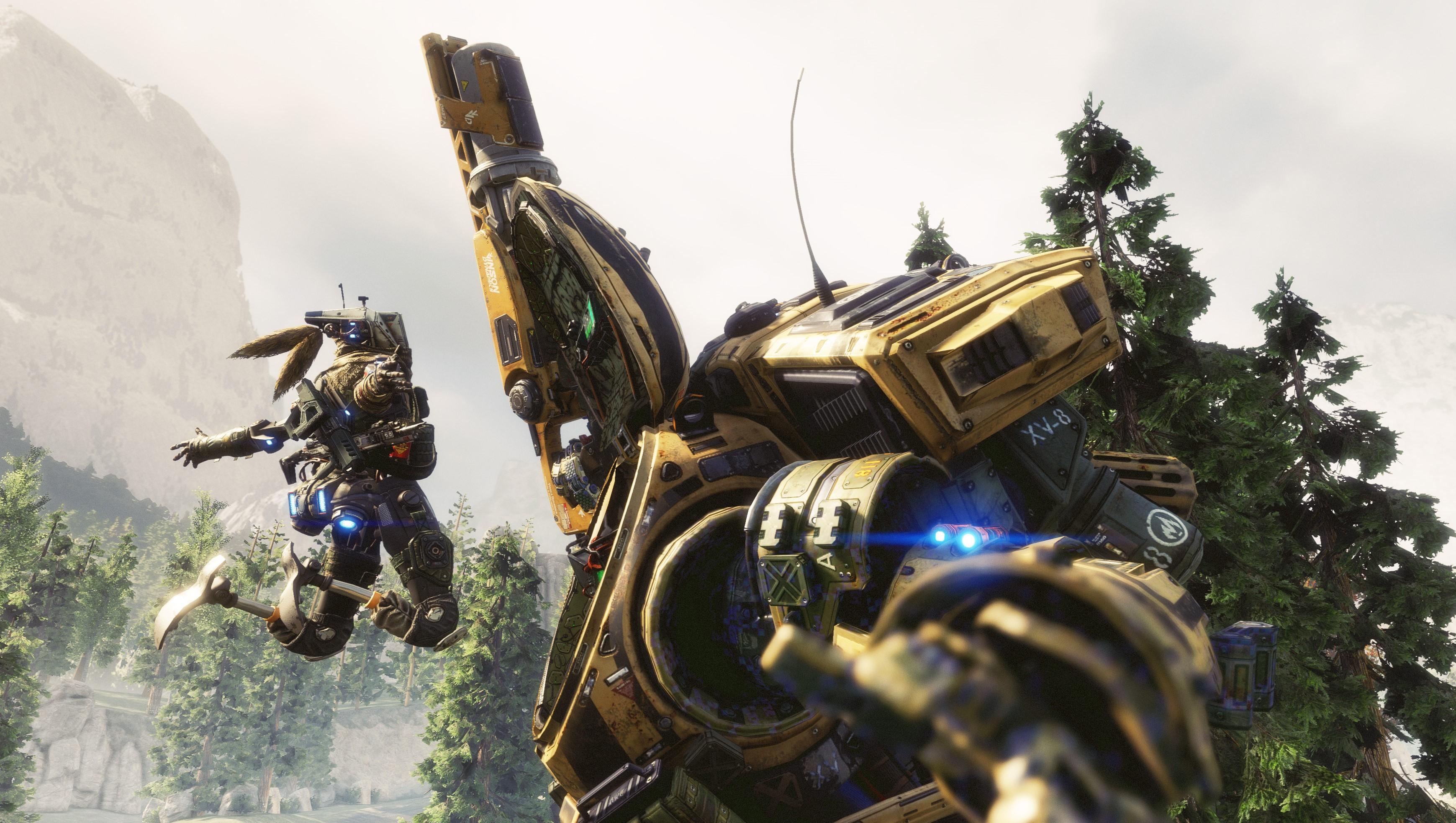 EA og Respawn gir spillerne en liten smakebit på titanene i Titanfall 2.