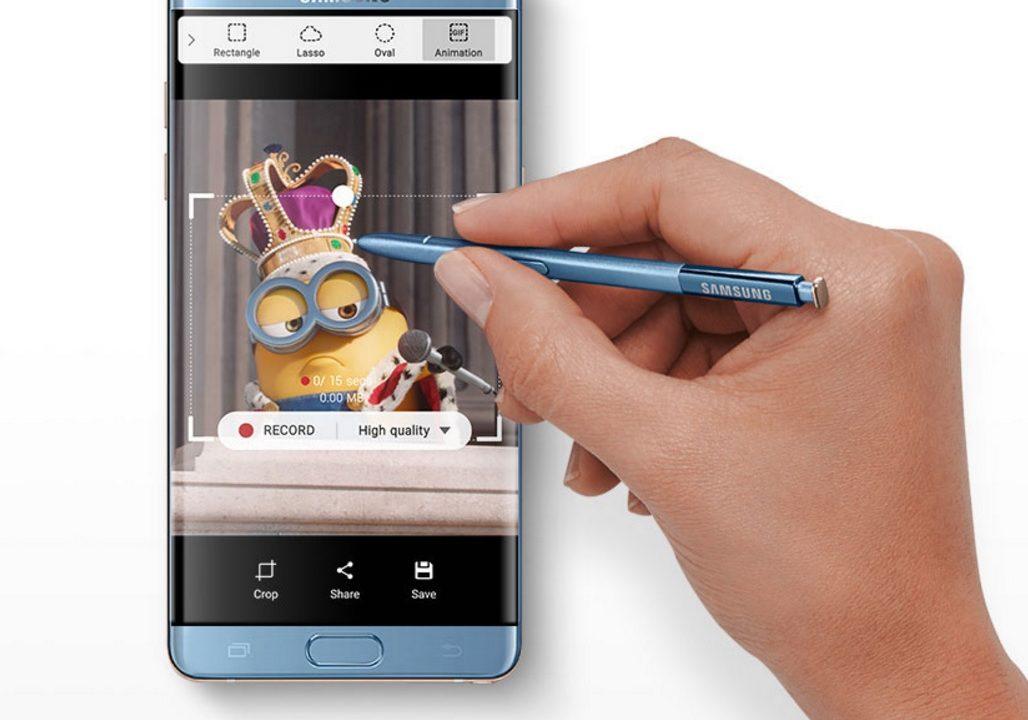 I oktober starter nye leveranser av Samsung Galaxy Note 7.