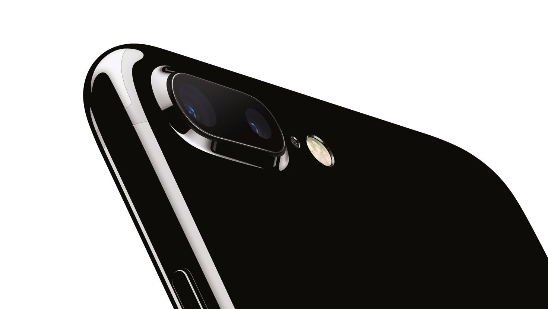 iPhone 7 Plus i gagatsvart.