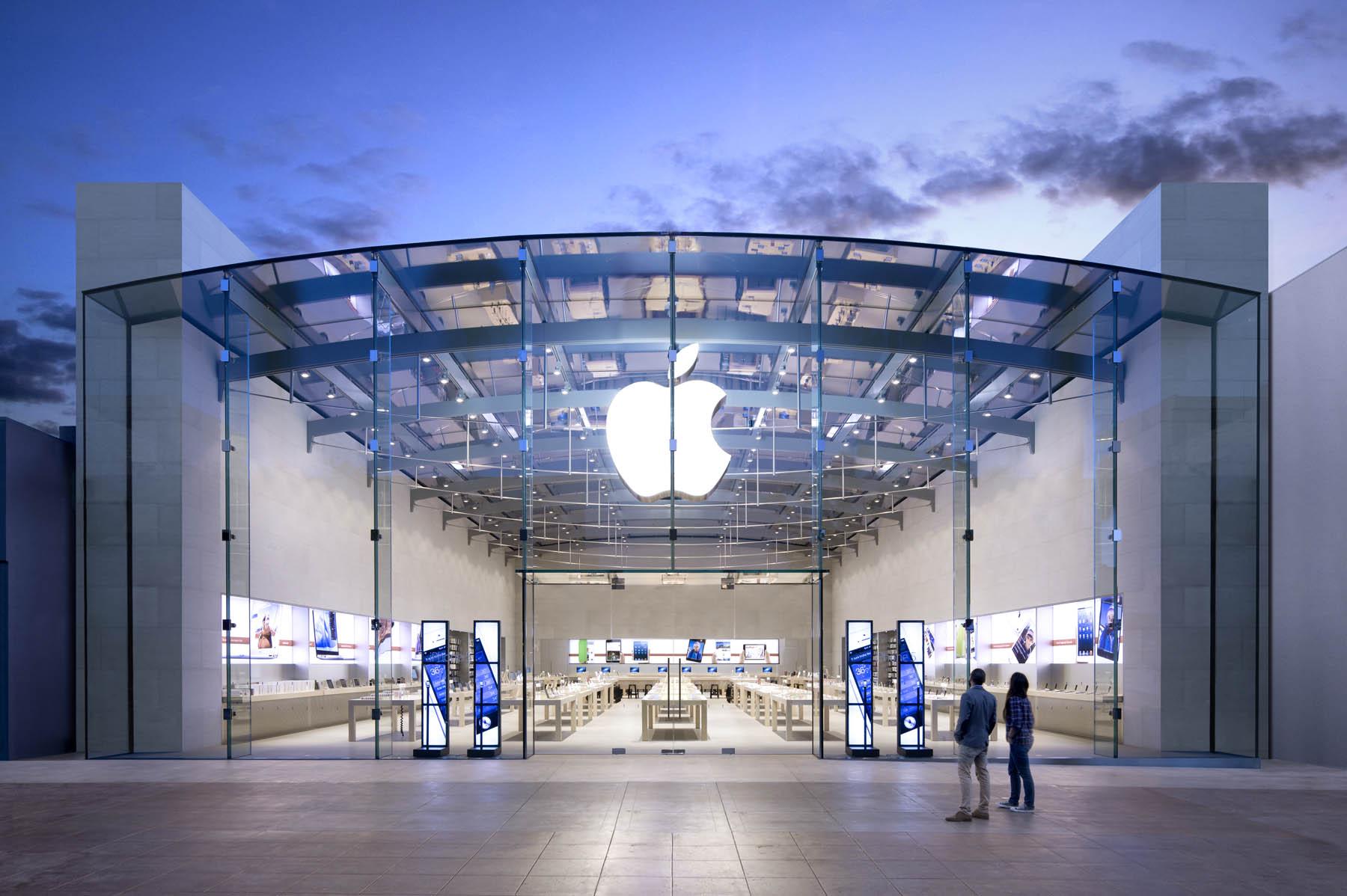 Dette er ikke anbefalt reklamasjonsmetode i Apple-butikker