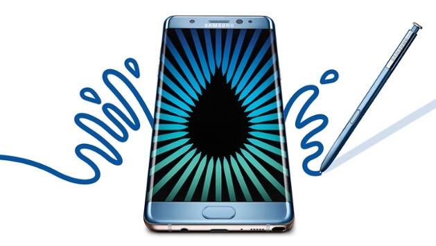 Samsung stanser produksjonen av Note 7.