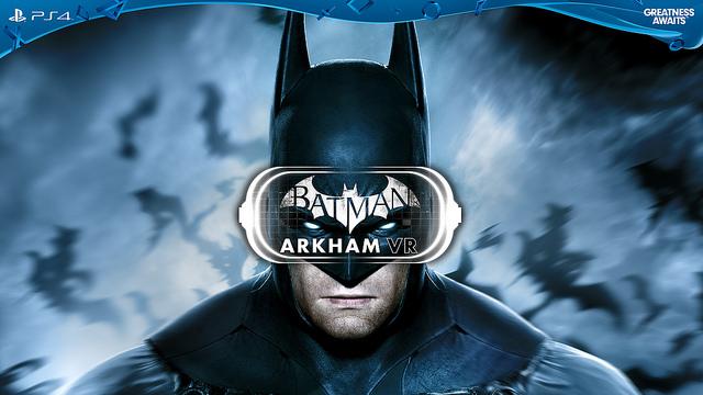 Batman: Arkham VR et av spillene som lanseres med PlayStation VR.