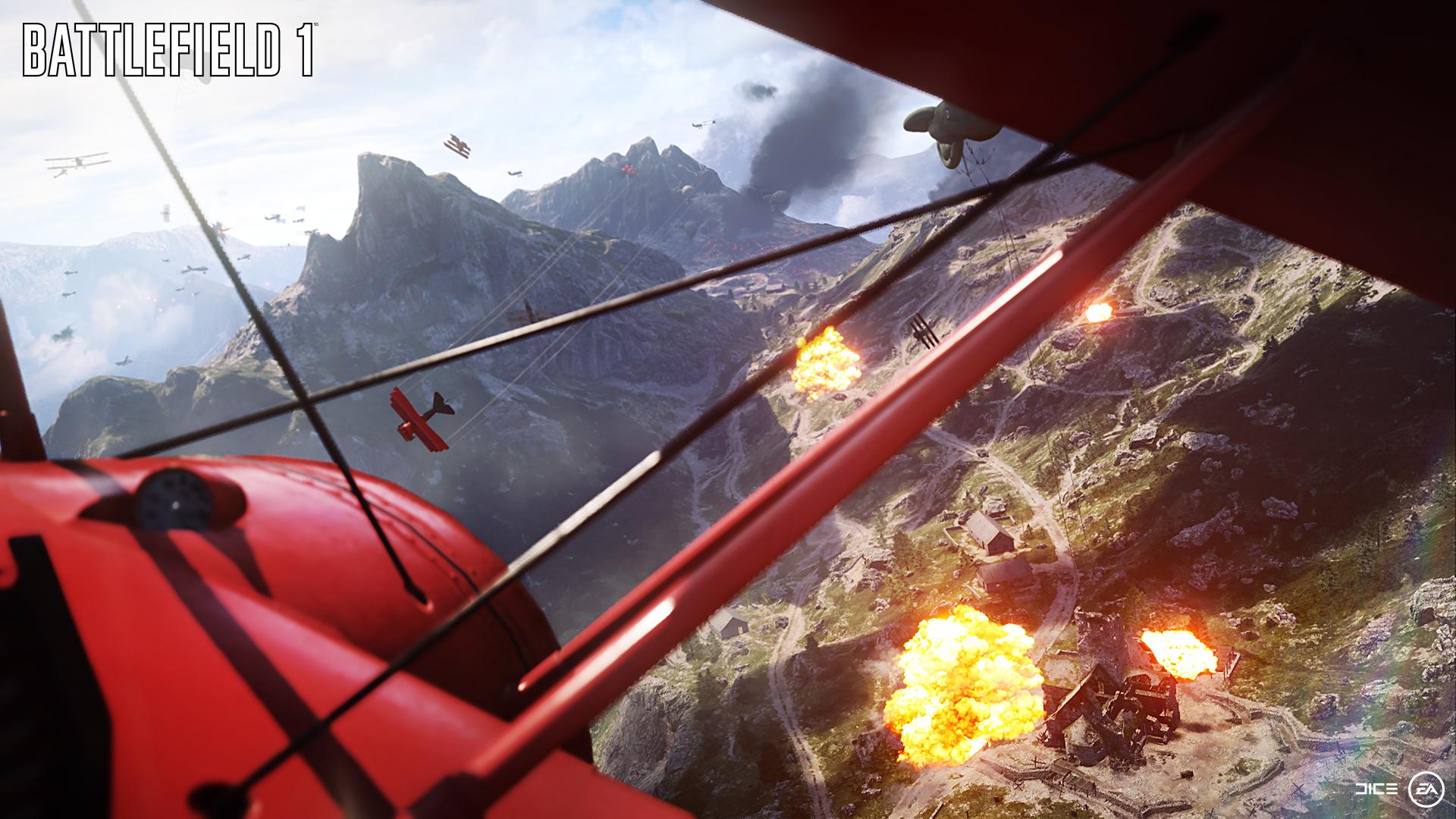 Det skorter ikke akkurat på action i Battlefield 1.